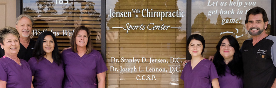 Dr. Jensen and his staff