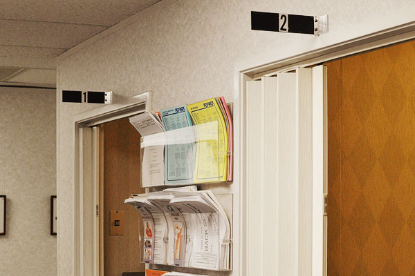 Physical Therapy Rooms